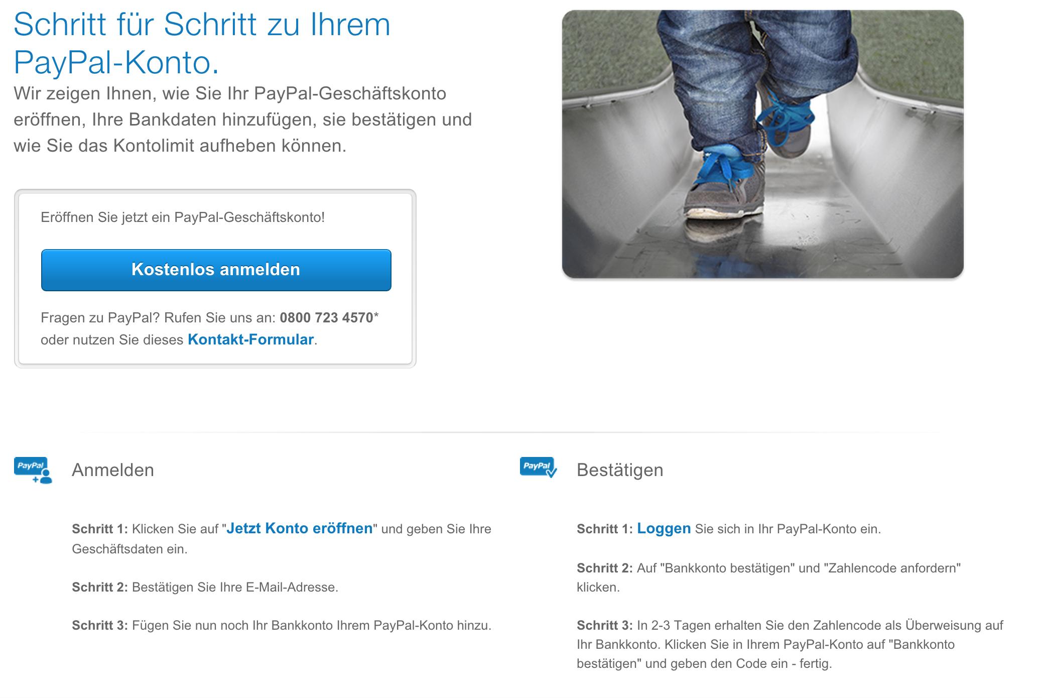 Paypal Download zum eigenen Erwachsenen